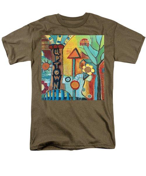 Uptown Dream World Men's T-Shirt  (Regular Fit) by Susan Stone