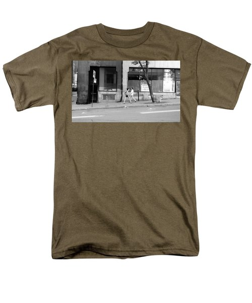 Men's T-Shirt  (Regular Fit) featuring the photograph Urban Encounter by Valentino Visentini