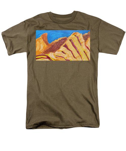 Utah  Canyons Men's T-Shirt  (Regular Fit) by Don Koester