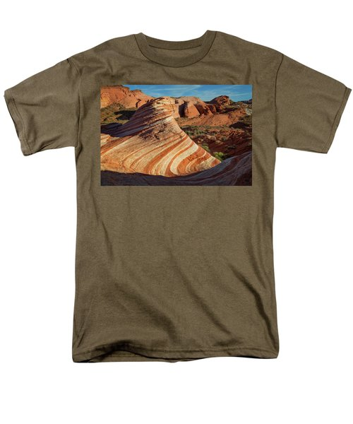 Valley Of Fire Xiv Men's T-Shirt  (Regular Fit)