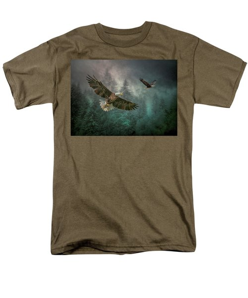 Valley Of The Eagles. Men's T-Shirt  (Regular Fit) by Brian Tarr