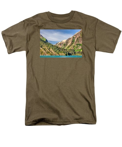 Valley Of Trees Men's T-Shirt  (Regular Fit) by Lewis Mann
