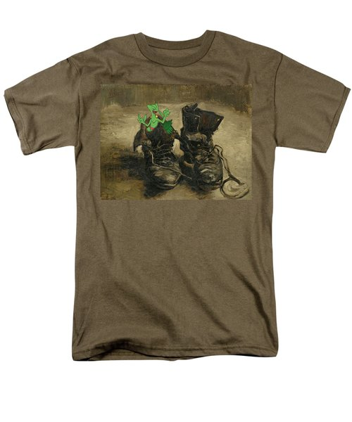 Men's T-Shirt  (Regular Fit) featuring the digital art Van Septilegogh by Greg Sharpe