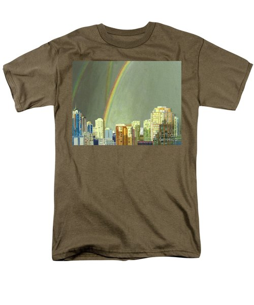 Vancouver Bc Men's T-Shirt  (Regular Fit) by Lynne Reichhart