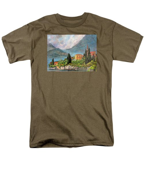 Varenna Italy Men's T-Shirt  (Regular Fit) by Donna Tucker