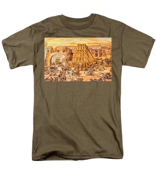 Vatican Obelisk Men's T-Shirt  (Regular Fit) by Nigel Fletcher-Jones