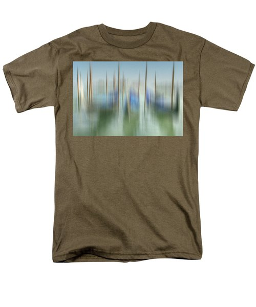 Venice Gondolas Impression 1 Men's T-Shirt  (Regular Fit) by Marty Garland