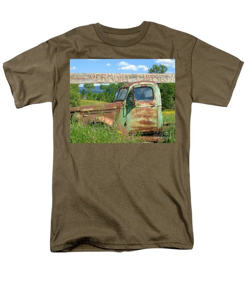 Vermont Cheese Men's T-Shirt  (Regular Fit) by Susan Lafleur