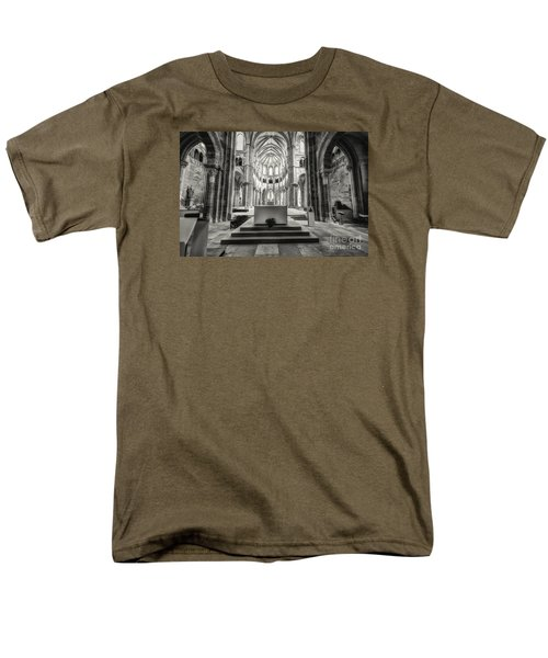Men's T-Shirt  (Regular Fit) featuring the photograph Vezelay Basilica France by Jack Torcello