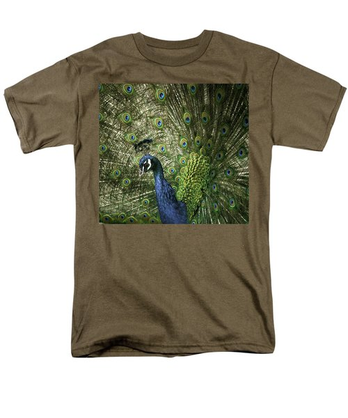 Vibrant Peacock Men's T-Shirt  (Regular Fit) by Jason Moynihan