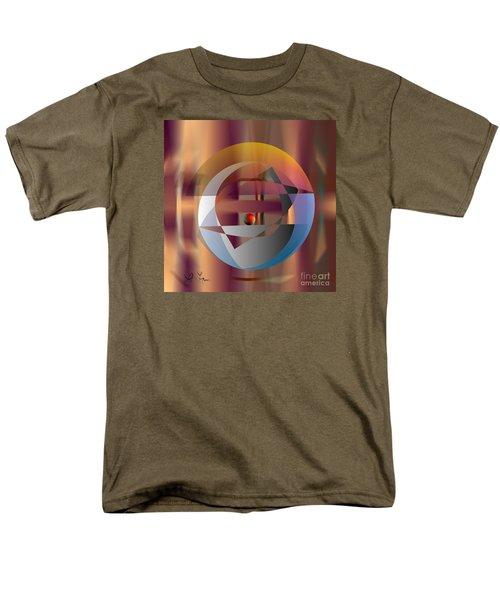 Men's T-Shirt  (Regular Fit) featuring the digital art Vicious Circle by Leo Symon