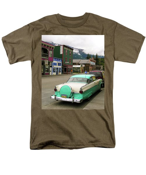 Vicky In Skagway Men's T-Shirt  (Regular Fit) by Jim Mathis