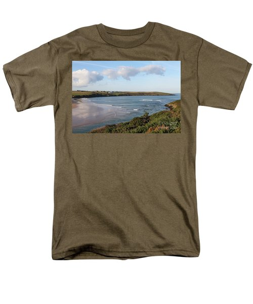 Men's T-Shirt  (Regular Fit) featuring the photograph View Across The Gannel Estuary by Nicholas Burningham