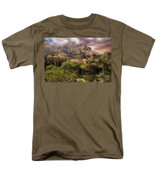 View From Boyce Thompson Men's T-Shirt  (Regular Fit) by Anne Rodkin