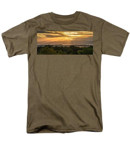 View From Overlook Park Men's T-Shirt  (Regular Fit) by Craig Szymanski
