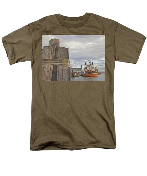 View From The Pilings Men's T-Shirt  (Regular Fit) by Suzy Piatt