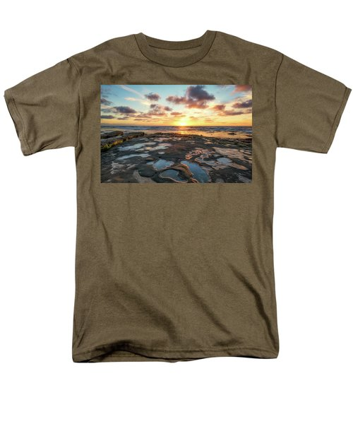View From The Reef Men's T-Shirt  (Regular Fit) by Joseph S Giacalone