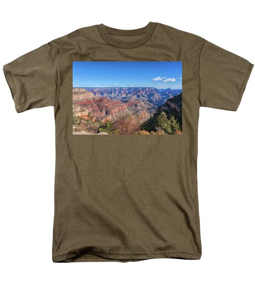 Men's T-Shirt  (Regular Fit) featuring the photograph View From The South Rim by John M Bailey