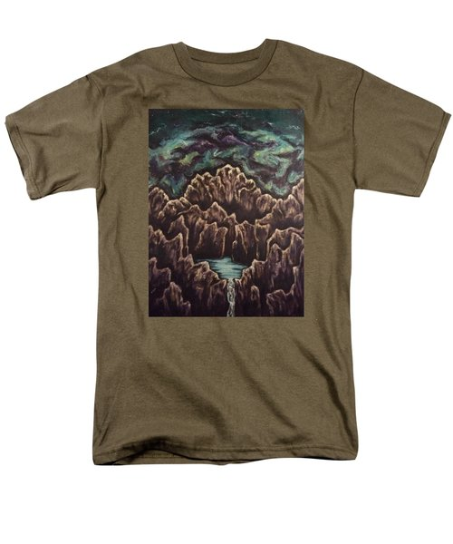 View From The Top Men's T-Shirt  (Regular Fit) by Cheryl Pettigrew