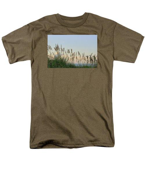 View Through The Sea Oats Men's T-Shirt  (Regular Fit) by Bradford Martin