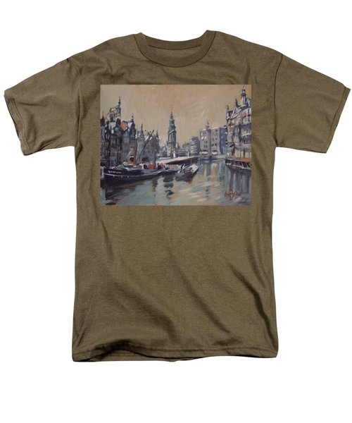 View To The Mint Tower Amsterdam Men's T-Shirt  (Regular Fit) by Nop Briex