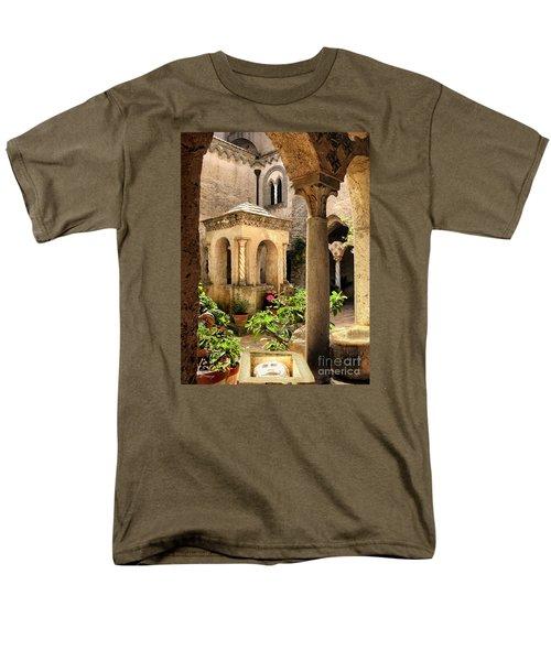 Villa Cimbrone. Ravello Men's T-Shirt  (Regular Fit) by Jennie Breeze