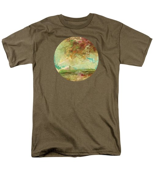 Men's T-Shirt  (Regular Fit) featuring the painting Villa by Mary Wolf