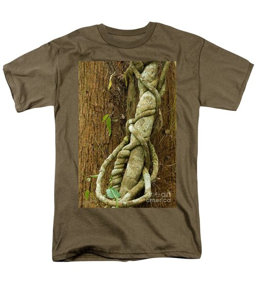 Men's T-Shirt  (Regular Fit) featuring the photograph Vine by Werner Padarin