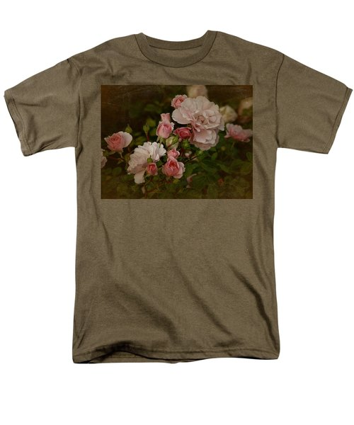 Men's T-Shirt  (Regular Fit) featuring the photograph Vintage June 2016 Roses by Richard Cummings
