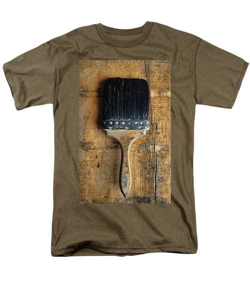 Vintage Paint Brush Men's T-Shirt  (Regular Fit) by Jill Battaglia