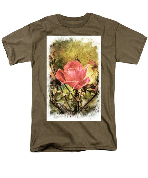 Vintage Rose Men's T-Shirt  (Regular Fit) by Tina  LeCour