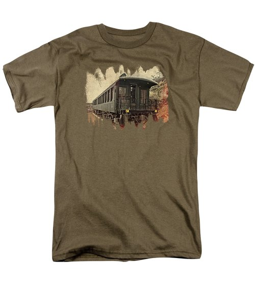 Virginia City Pullman Men's T-Shirt  (Regular Fit) by Thom Zehrfeld