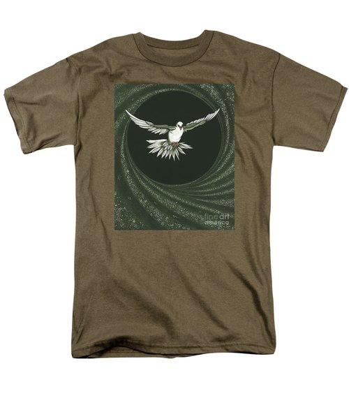 Viriditas-holy Spirit Detail Men's T-Shirt  (Regular Fit)