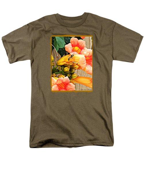 Visitor  Men's T-Shirt  (Regular Fit) by Bobbee Rickard