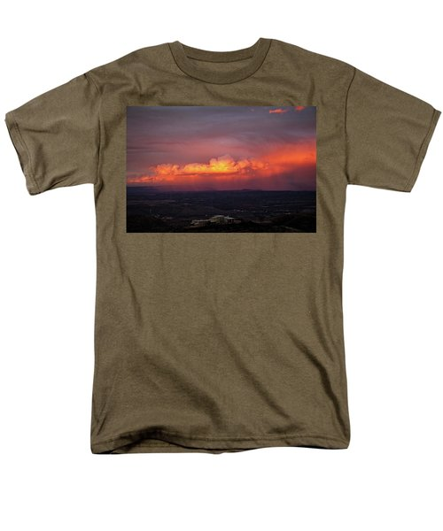 Vivid Verde Valley Sunset Men's T-Shirt  (Regular Fit) by Ron Chilston