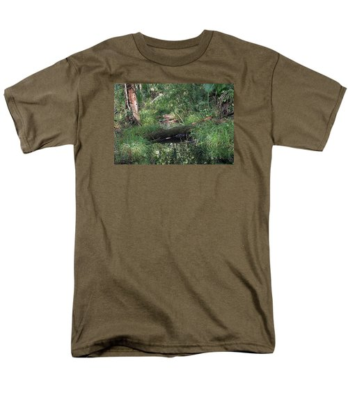 Wading Through The Swamp Men's T-Shirt  (Regular Fit) by Kenneth Albin