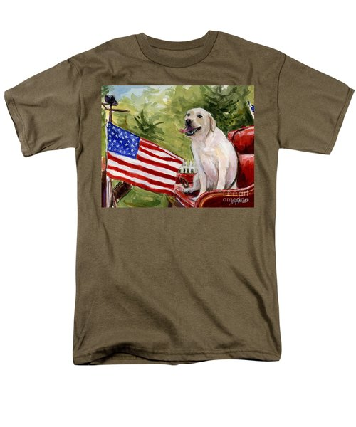Wag The Flag Men's T-Shirt  (Regular Fit) by Molly Poole
