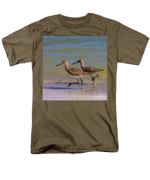 Walk Together Stay Together Men's T-Shirt  (Regular Fit) by Marvin Spates