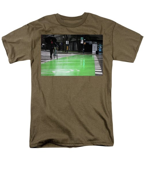 Walk With Wheels  Men's T-Shirt  (Regular Fit) by Empty Wall