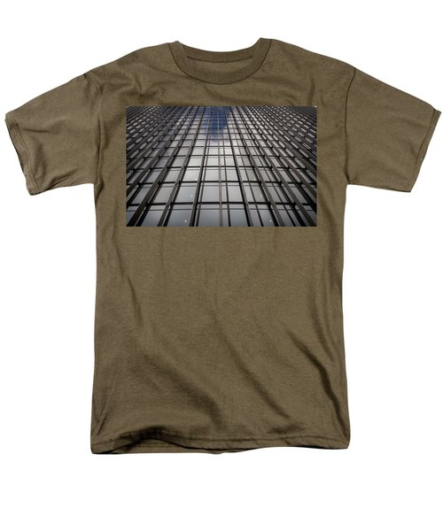 Men's T-Shirt  (Regular Fit) featuring the photograph Walkie Talkie Skyscraper London by Shirley Mitchell