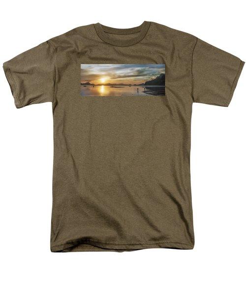 Walking In The Sun Men's T-Shirt  (Regular Fit) by John Swartz