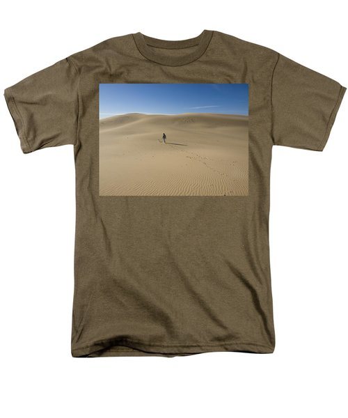 Walking On The Sand Men's T-Shirt  (Regular Fit) by Tara Lynn