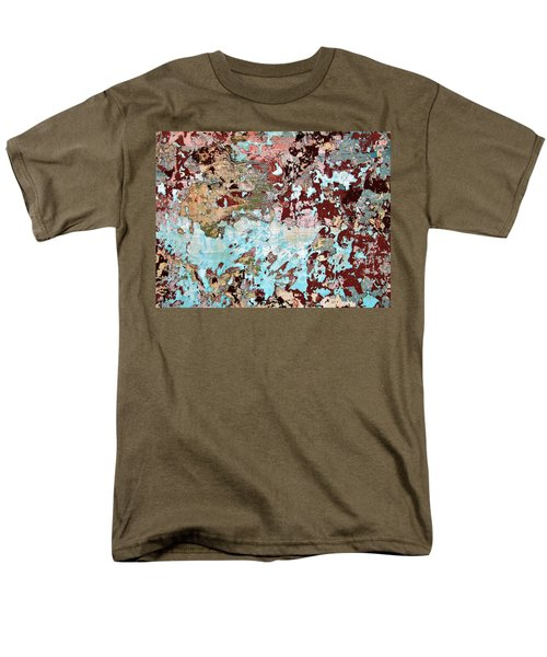 Wall Abstract 128 Men's T-Shirt  (Regular Fit) by Maria Huntley