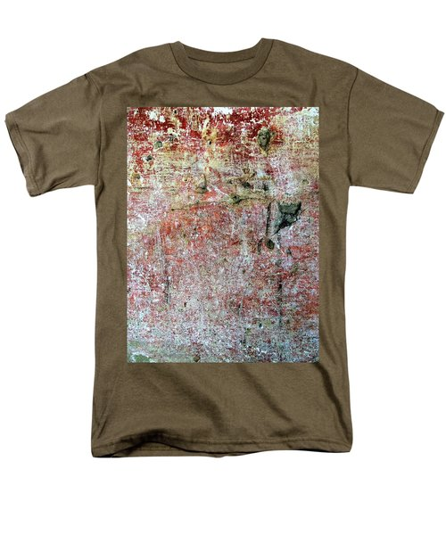 Wall Abstract 169 Men's T-Shirt  (Regular Fit) by Maria Huntley
