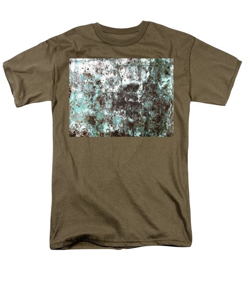 Wall Abstract 173 Men's T-Shirt  (Regular Fit) by Maria Huntley