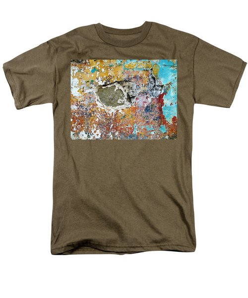 Wall Abstract 196 Men's T-Shirt  (Regular Fit) by Maria Huntley