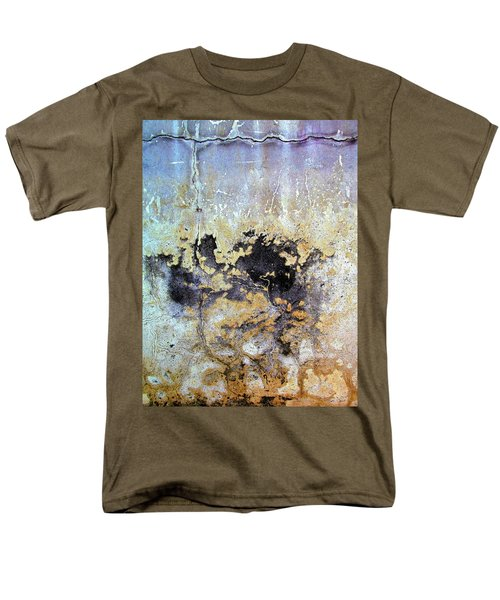 Wall Abstract 68 Men's T-Shirt  (Regular Fit) by Maria Huntley