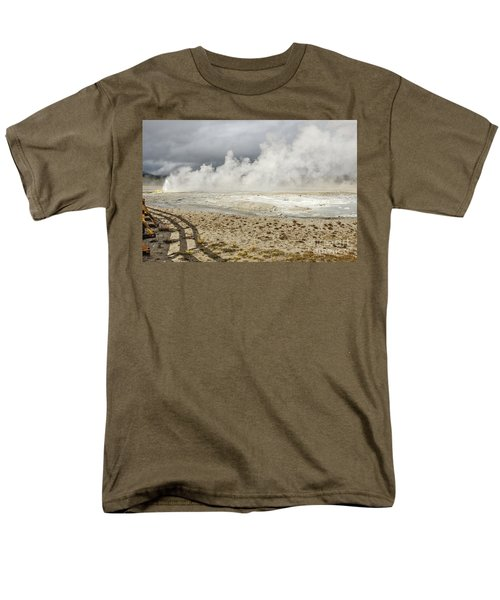 Wall Of Steam Men's T-Shirt  (Regular Fit) by Sue Smith
