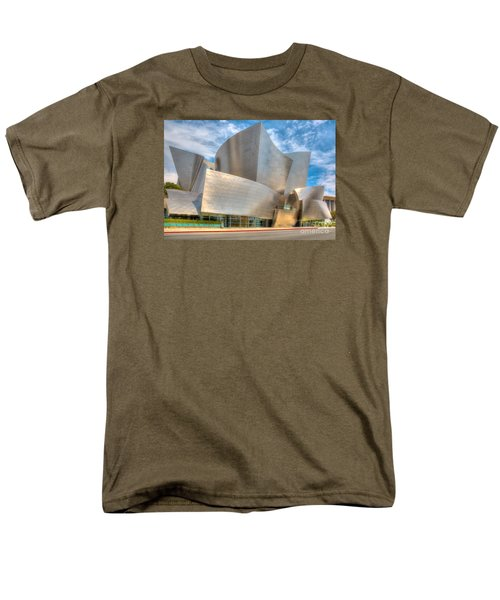 Men's T-Shirt  (Regular Fit) featuring the photograph Walt Disney Concert Hall - Los Angeles by Jim Carrell