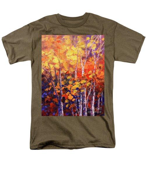 Warm Expressions Men's T-Shirt  (Regular Fit) by Tatiana Iliina
